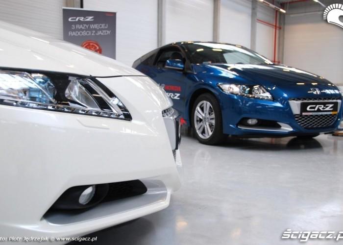 CR-Z honda 2010 Honda Centrum Logistyczne Pniewy