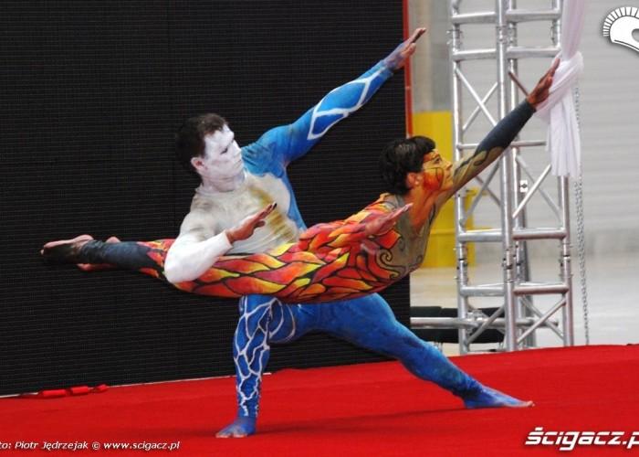 akrobacje figura Honda Centrum Logistyczne Pniewy