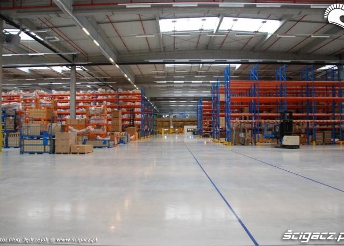ok 12 000 metrow zajetych Honda Centrum Logistyczne Pniewy