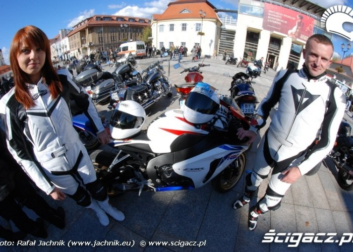 Ladnie i bezpiecznie Podlaskie Zakonczenie Sezonu Motocylkowego 2010 Bialystok