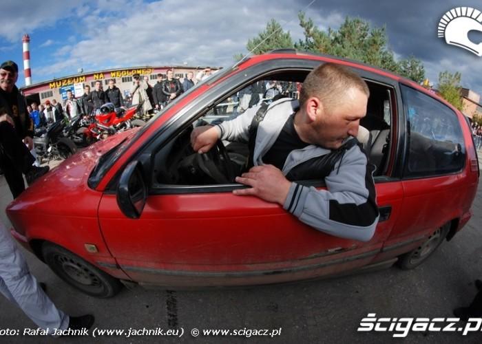 Podlaskie Zakonczenie Sezonu Motocylkowego 2010 Bialystok pokaz strazakow