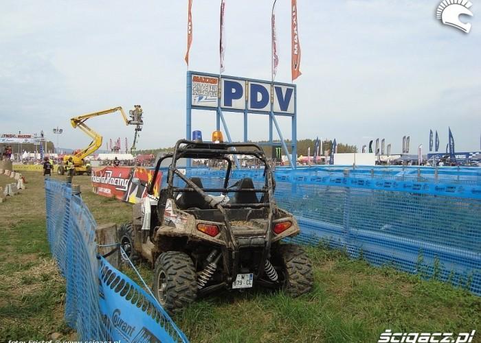Polaris RZR Safety car
