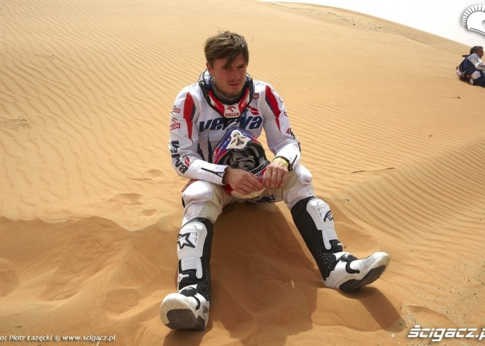 Kuba Przygoniak Abu Dhabi Desert Challenge 2011
