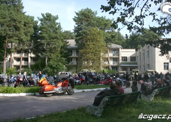 Rajd Katynski 2010 teren zlotu