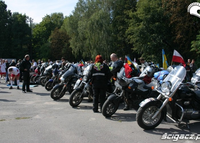 Rajd Katynski Winnica motocykle