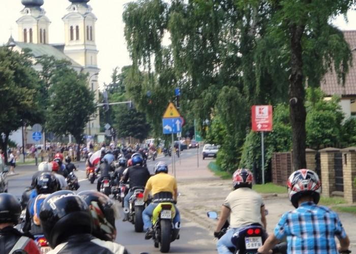bilgoraj parada motocyklistow
