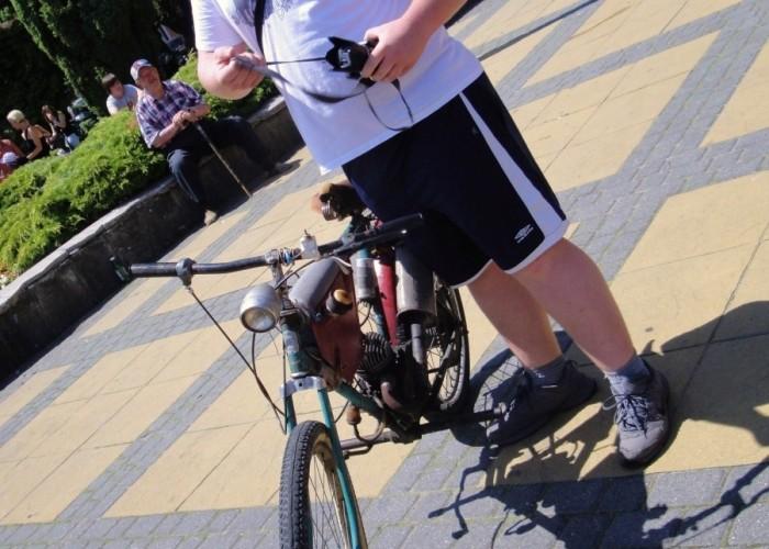 moto rower samorobka