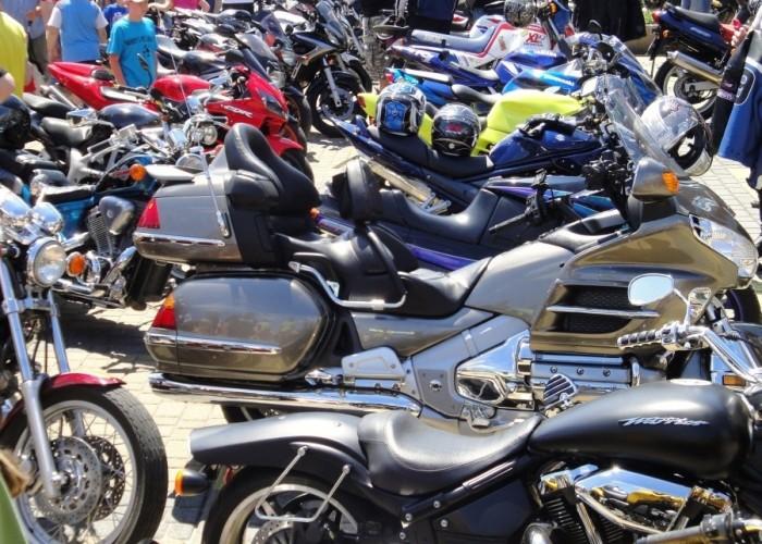 motocyle plac w bilgoraju