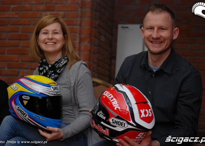 Anna Wojcik i Robert Murawski MotoSeven