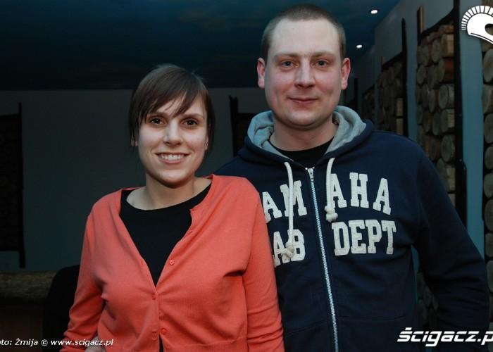 Artur Budnicki i Agata Drausan Gres