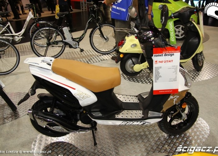 747 Romet Scooter Intermot 2011