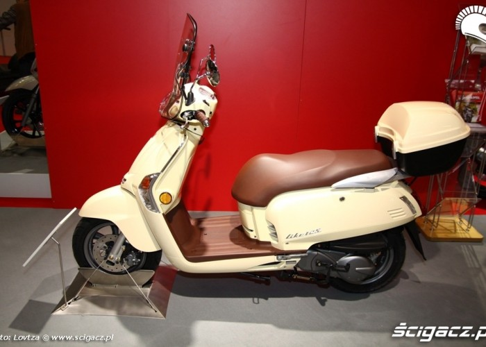 Kymco Like Scooter Intermot 2011