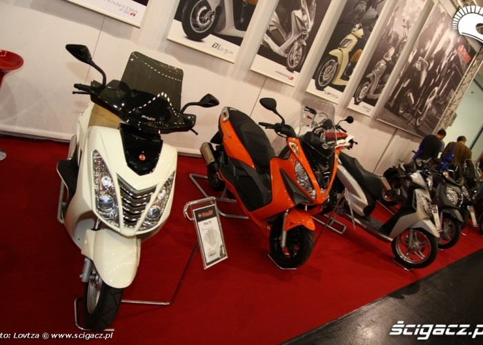 Malaguti Scooter Intermot 2011