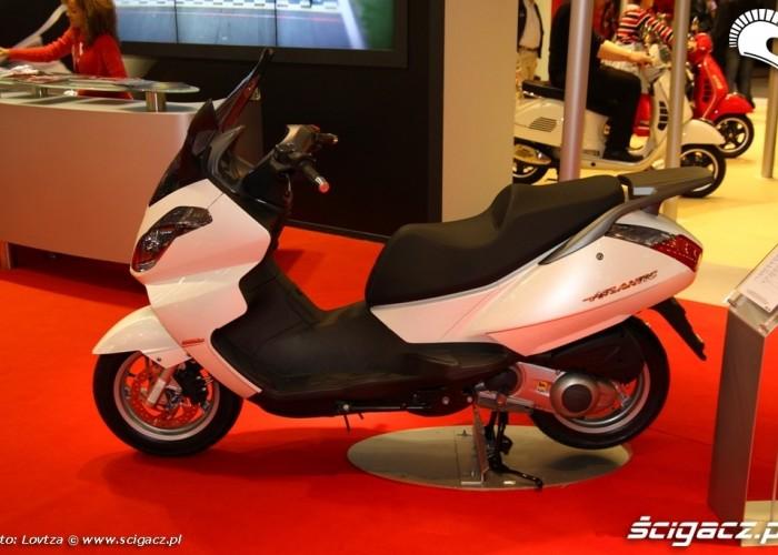 Piaggio Skutery Intermot 2011