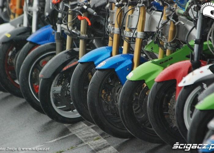 Kola motocykli