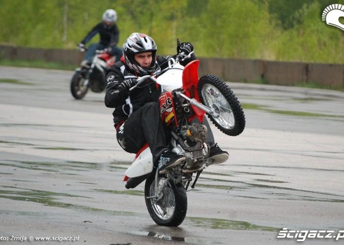 Frackiewicz Piotr jazda na moto