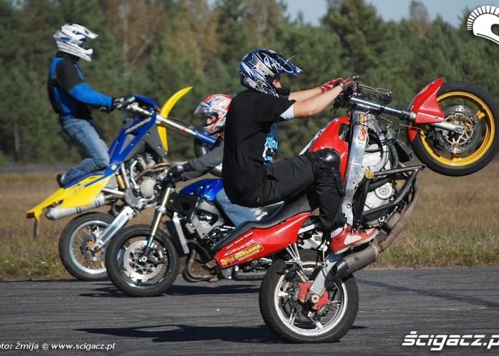 Adam Gembarski stunt trening