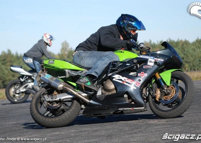 Drifty na Kawasaki ZX6R
