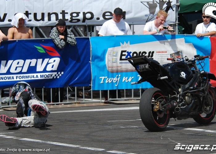 Wypadek motocyklowy Monika Koch