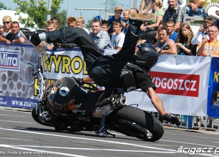 Wypadek na motocyklu Benajmin Baldini