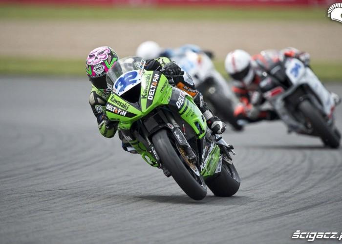 Kawasaki ZX WSS Donington Park 2012