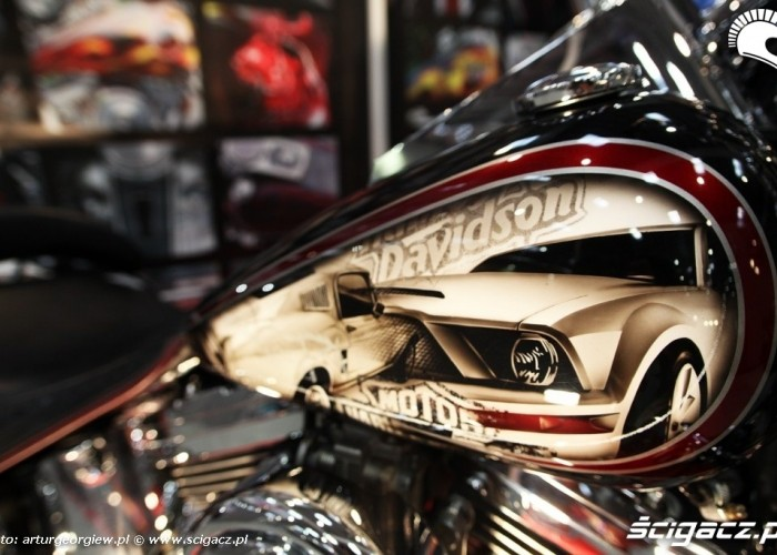 harley davidson Targi Motocyklowe w Warszawie - III Ogolnopolska Wystawa Motocykli i Skuterow 2011