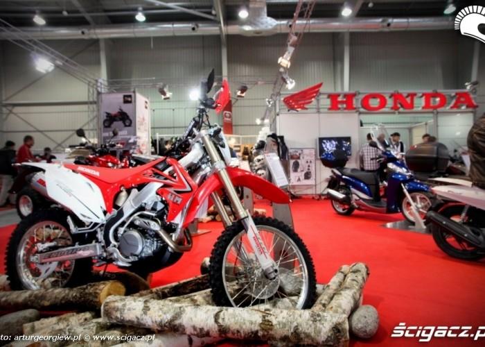 honda crf Targi Motocyklowe w Warszawie - III Ogolnopolska Wystawa Motocykli i Skuterow 2011