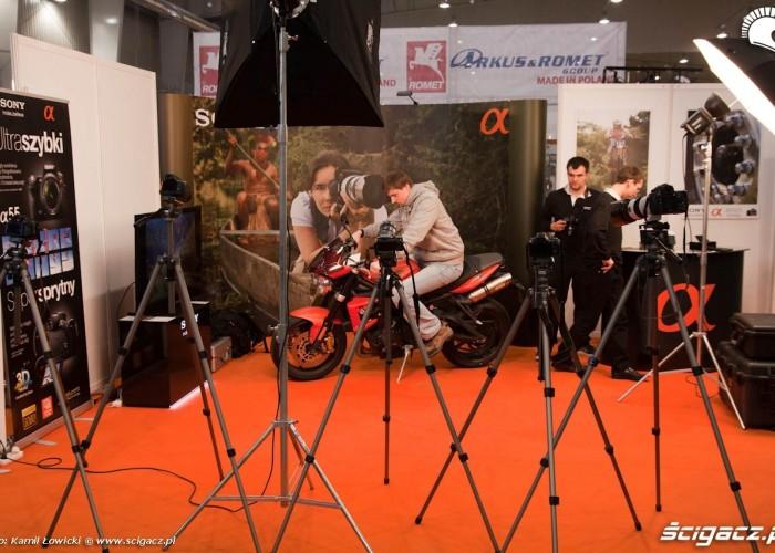 sesja zdjeciowa sony Targi Motocyklowe Warszawa 2011 - III OWMiS
