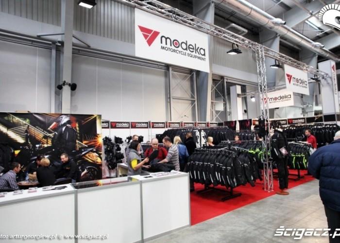 stoisko modeka Targi Motocyklowe w Warszawie - III Ogolnopolska Wystawa Motocykli i Skuterow 2011