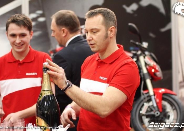 szampan ducati Targi Motocyklowe w Warszawie - III Ogolnopolska Wystawa Motocykli i Skuterow 2011