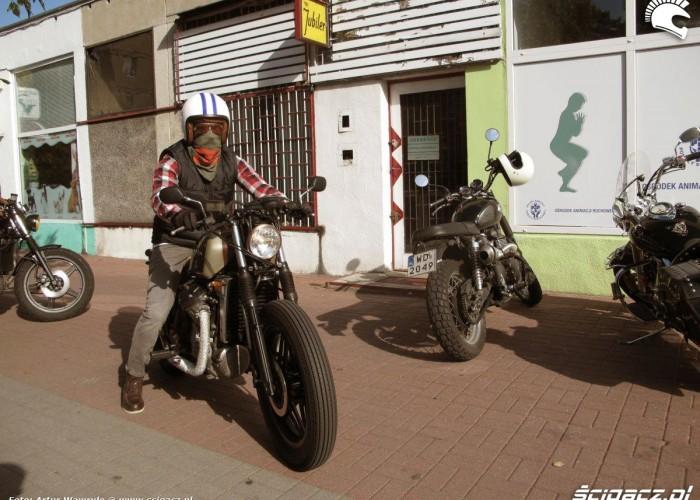 motocyklista DGR