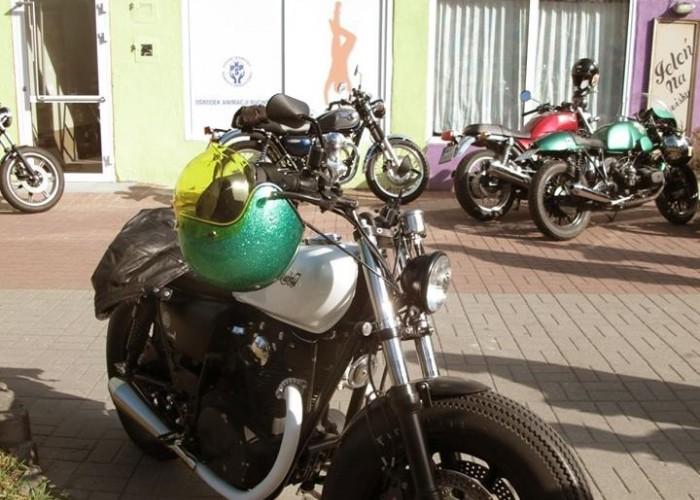 piekny motocykl DGR 2014