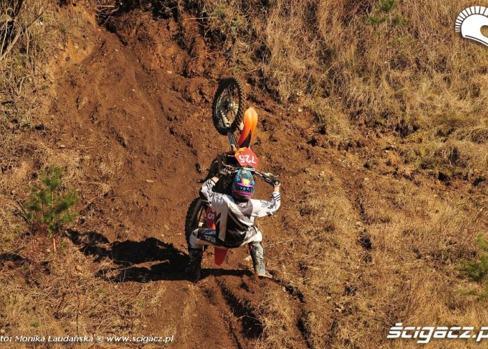 Super wheelie Trening enduro