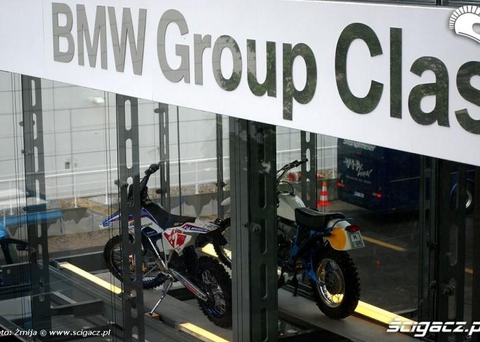 Motocykle enduro BMW