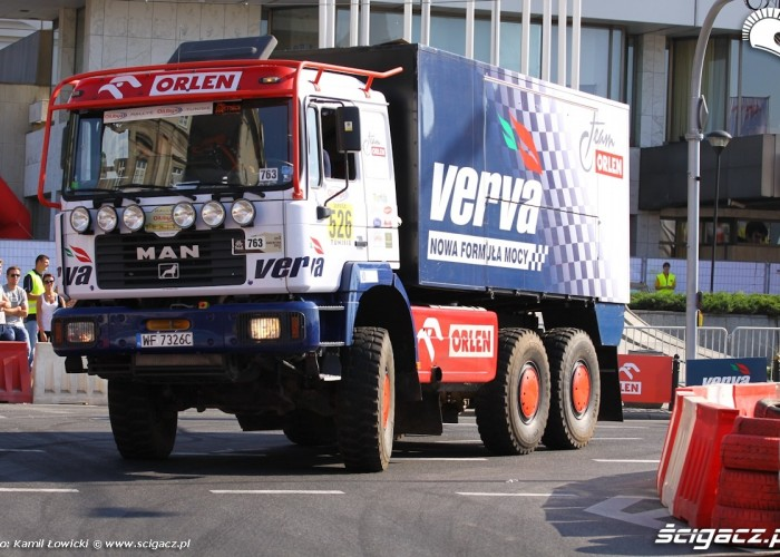 Ciezarowka Dakar Verva Street Racing Warszawa