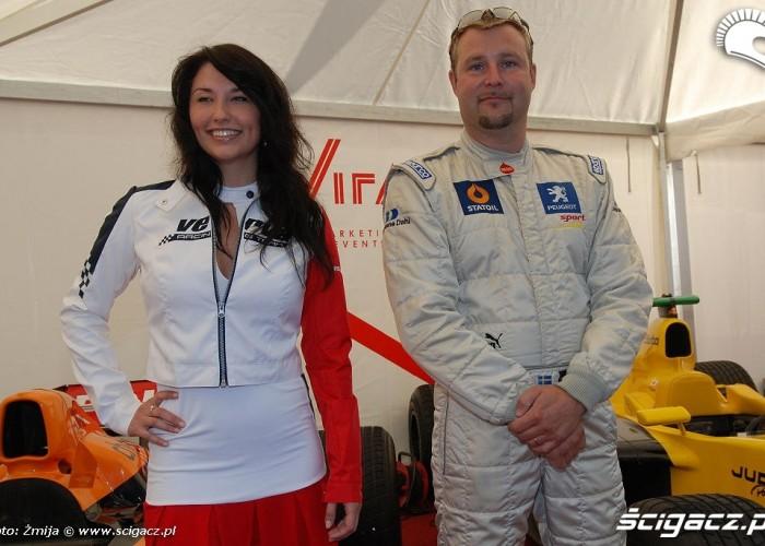 Zawodnik F1 na Verva Street Racing