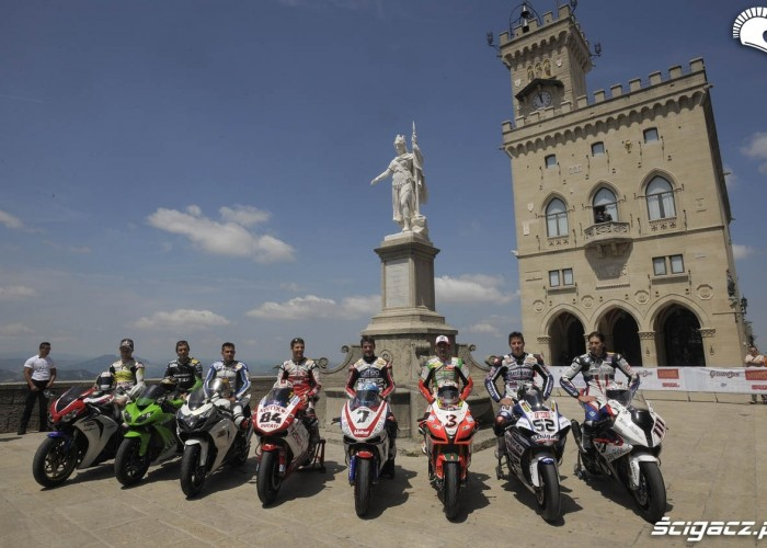 Kierowcy Superbike w San Marino