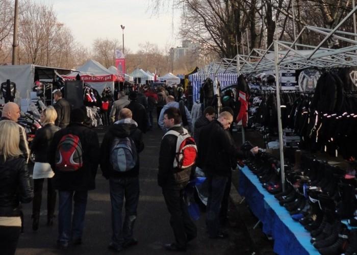 alejka warszawski bazar motocyklowy - 13 marca poczatek sezonu