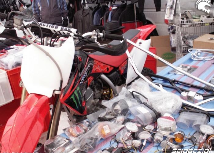 akcesoria cross Monster energy Warszawski Bazar Motocyklowy 2010