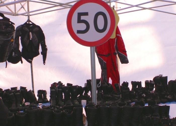 buty z ograniczeniem do 50 Mototarg 2010 Warszawa