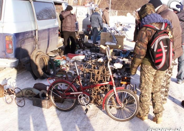 rower Warszawski Bazar Motocyklowy 2010
