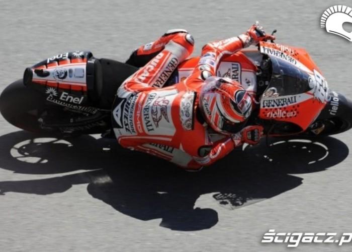 Ducati Sachsenring Hayden Track