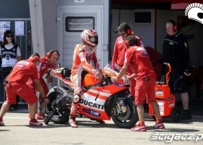 Ducati Sachsenring Hayden box