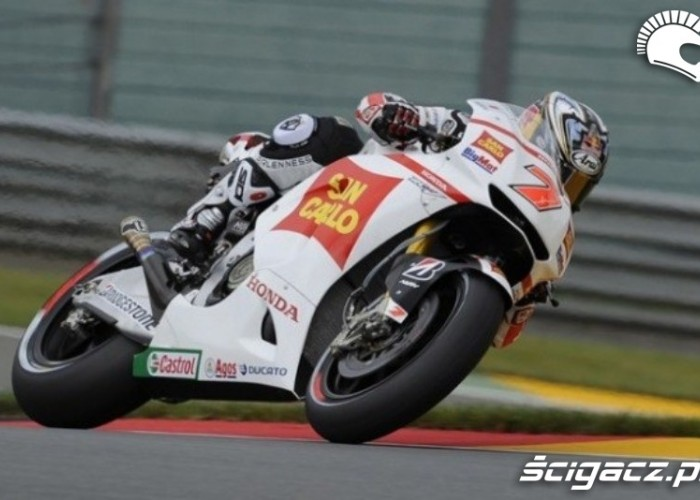 HondaGresini Sachsenring Race