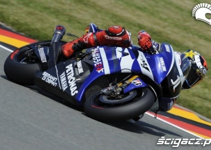 Jorge Lorenzo Yamaha Sachsenring