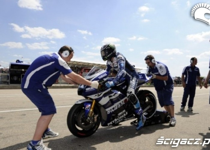 Yamaha Sachsenring motoGP