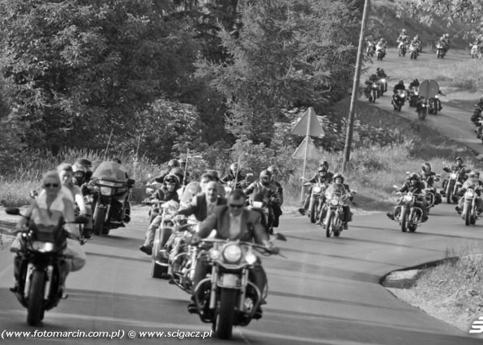 wesele motocykle Zaneta i Marcin