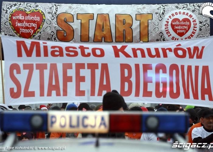 knurow sztafeta biegowa WOSP 18final Igor Kohutnicki 0062