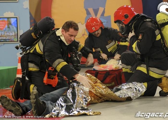 pierwsza pomoc WOSP 18final Arek Drygas 09