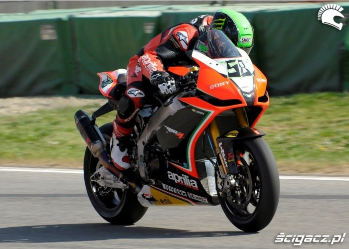 Eugene Laverty Aprilia RSV